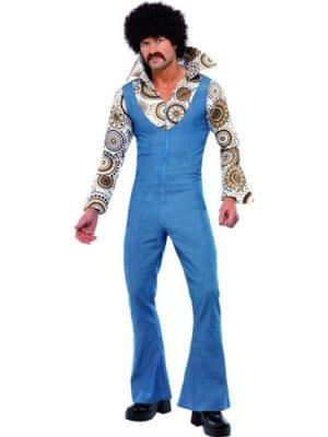 1970's Groovy Dancer Men's Fancy Dress Costume