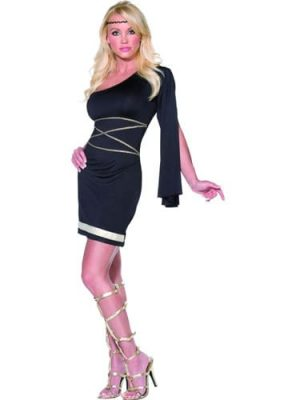 Fever Collection Greek Goddess Ladies Fancy Dress Costume