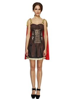 Fever Collection Gladiator Ladies Fancy Dress Costume
