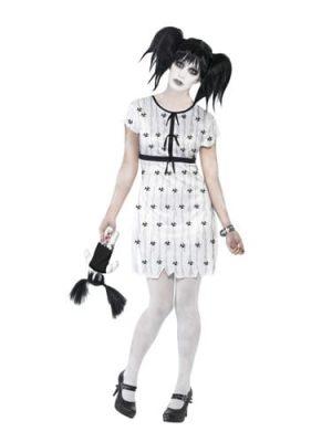 Abby Normal Halloween Ladies Fancy Dress Costume