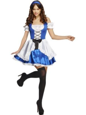 Fever Collection Alice Ladies Fancy Dress Costume