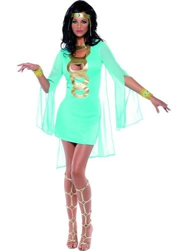 Fever Queen of the Nile Ladies Fancy Dress Costume