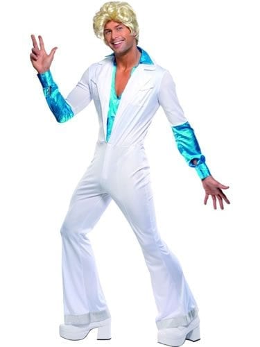1970's Disco Man Men's Fancy Dress Costume