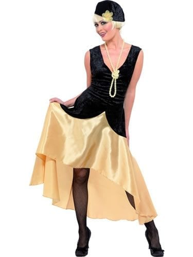 1920's Gatsby Girl Ladies Fancy Dress Costume