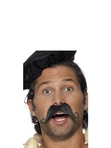 Frenchman Moustache Black