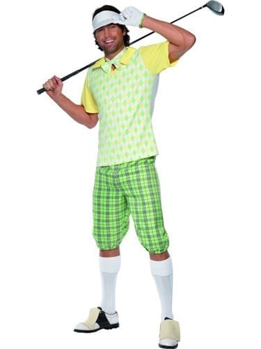 Gone Golfing Mens Fancy Dress Costume