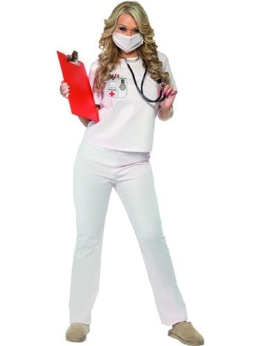 Nurse Cutie Ladies Fancy Dress Costume