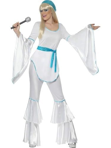 Super Trooper White Ladies Fancy Dress Costume