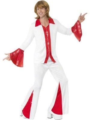 Super Trooper White Men's Fancy Dress Costume
