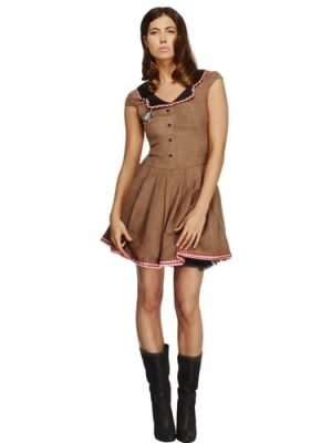 Fever Collection Wild West (Cowgirl) Ladies Fancy Dress Costume