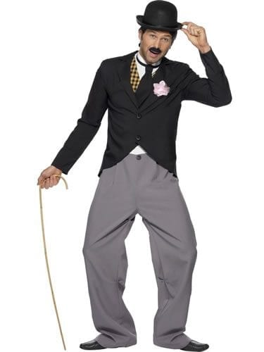 1920's Star (Charlie Chaplin) Mens Fancy Dress Costume