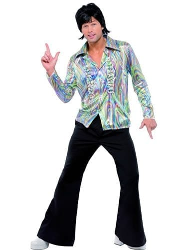 70's Retro Men's Fancy Dress Costume