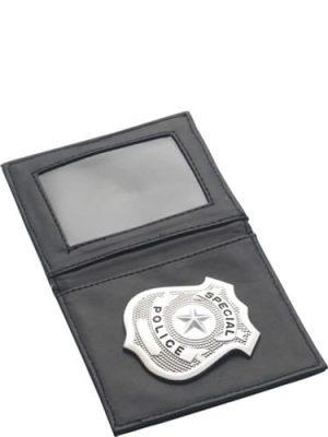 Police Badge & Wallet