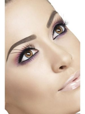 Fever Collection Black with Long Plume Eyelashes