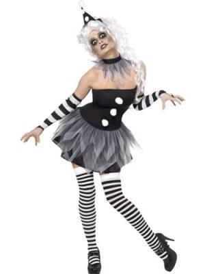Cirque Sinister Sinister Poiret Ladies Halloween Fancy Dress