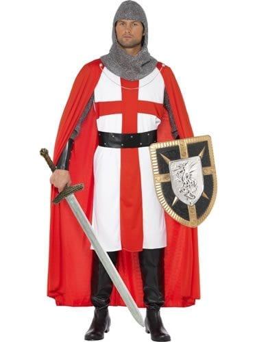 Tales of Old England St George Hero Mens Fancy Dress Costume