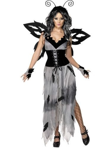 Gothic Manor Sinister Forest Fairy Ladies Halloween Fancy Dress Costume