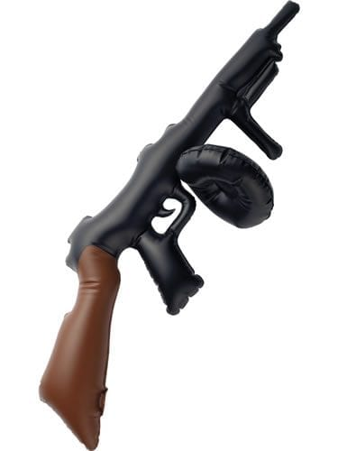 Inflatable Gangster Tommy Gun