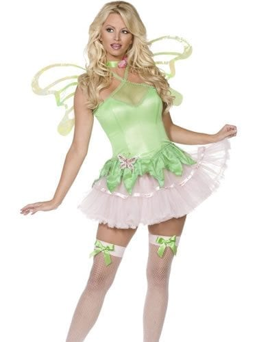 Bijou Boutique Fairy 2 Piece Ensemble Ladies Fancy Dress Costume