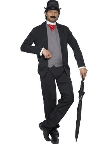 Cheeky Old English Gent Mens Fancy Dress Costume (DISC)