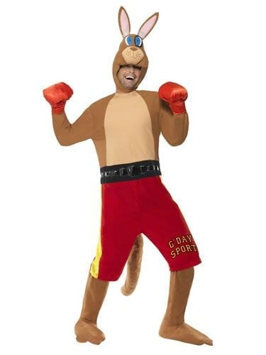 Kangaroo Boxer Novelty Fancy Dress Costume