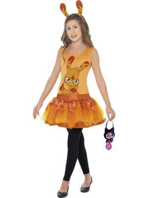 Moshi Monster's Katsuma Girl's Fancy Dress Costume