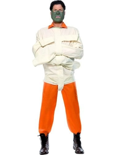 Silence of the Lambs Hannibal Lecter Mens Fancy Dress Costume
