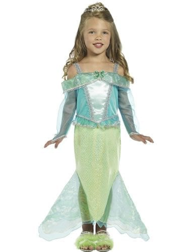 Mermaid Princess Children's Fancy Dress Costume