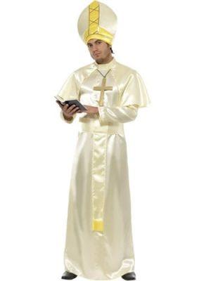 Pope Mens Fancy Dress Costume