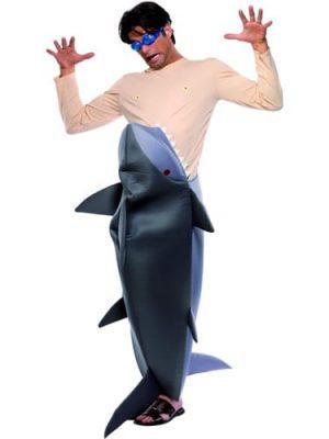 Man Eating Shark Novelty Fancy Dress Costume