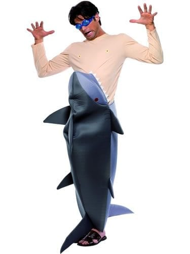 Man Eating Shark Novelty Fancy Dress Costume