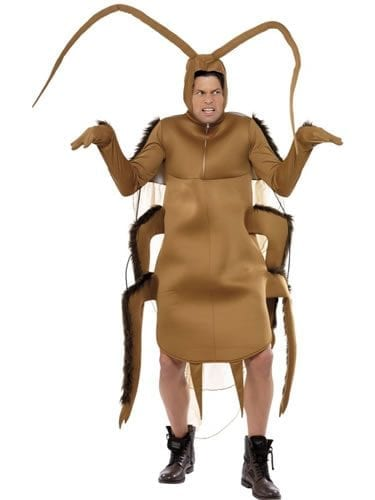 Cockroach Novelty Fancy Dress Costume