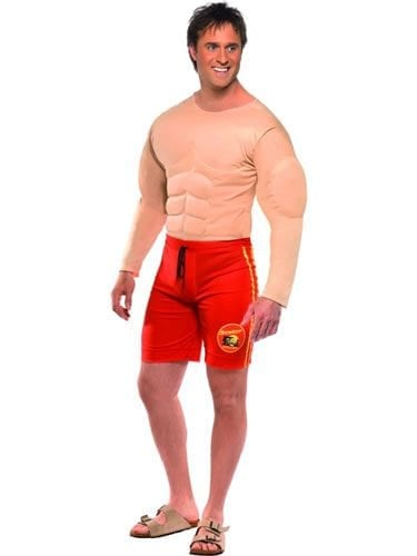 Baywatch Lifeguard Mens Fancy Dress Costume