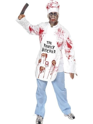 Deadly Chef Mens Halloween Fancy Dress Costume
