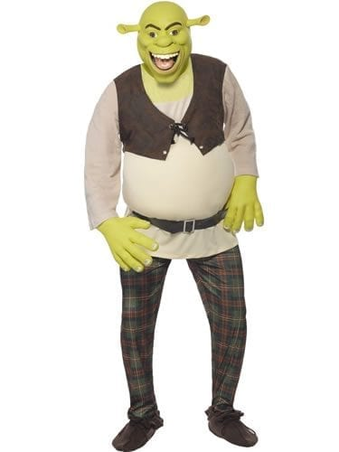 Dream Works Shrek Mens Fancy Dress Costume