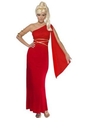 Aphrodite Ladies Fancy Dress Costume