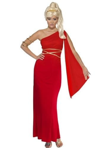 Aphrodite Ladies Fancy Dress Costume