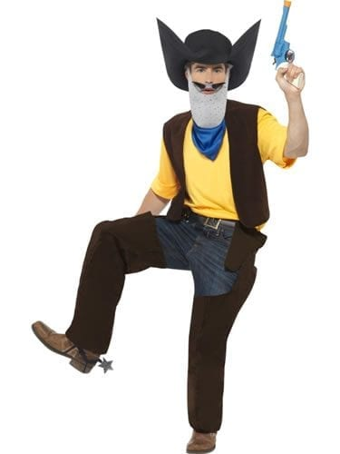 Superted Texas Pete Men's Fancy Dress Costume