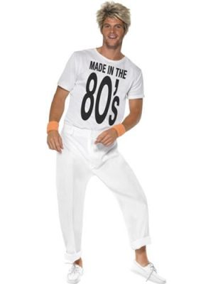 Made in the 80's Mens Fancy Dress Costume