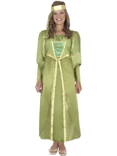 Maid Marion Childrens Fancy Dress Costume (DISC)