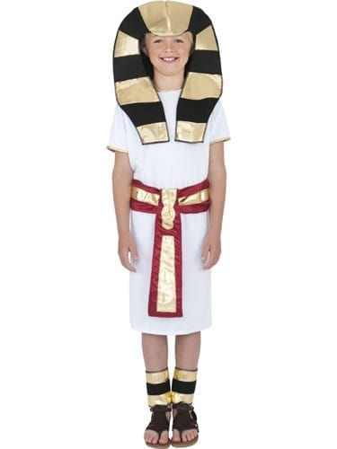Egyptian Boy's Childrens Fancy Dress Costume
