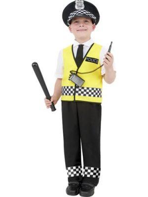 Police Boy Children's Fancy Dress Costume