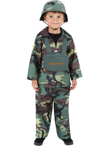 Army Boy Children's Fancy Dress Costume