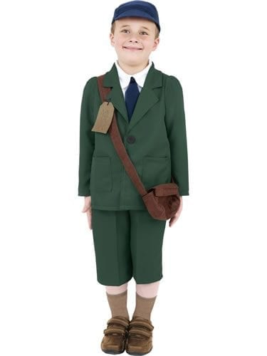 World War II Evacuee Boy Childrens Fancy Dress Costume