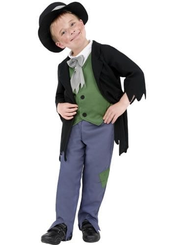 Dodgy Victorian Boy Children's Fancy Dress Costume