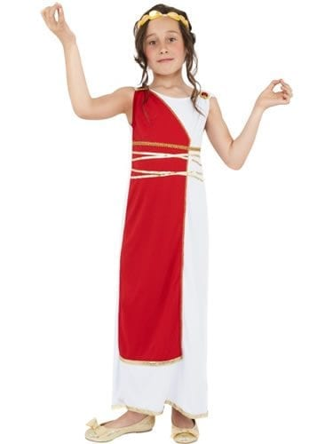 Grecian Girl Childrens Fancy Dress Costume
