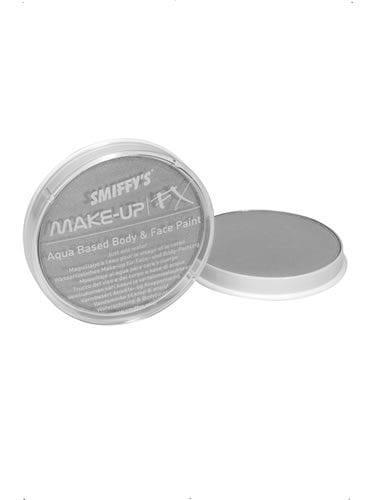 Smiffys FX Water Based Make Up Metallic Silver 16ml