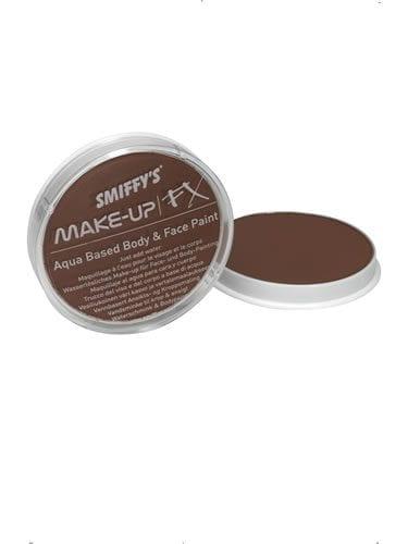 Smiffys FX Water Based Make Up Light Brown 16ml