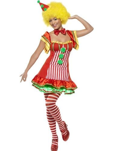 Boo Boo the Clown Ladies Fancy Dress Costume