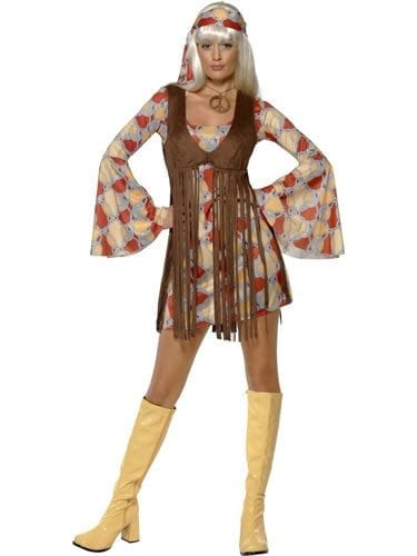 1960's Groovy Baby Ladies Fancy Dress Costume